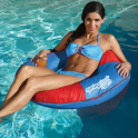 SPRING FLOAT SUN TUBE LOUNGER