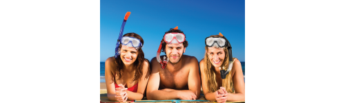 Goggles, Masks and Snorkels